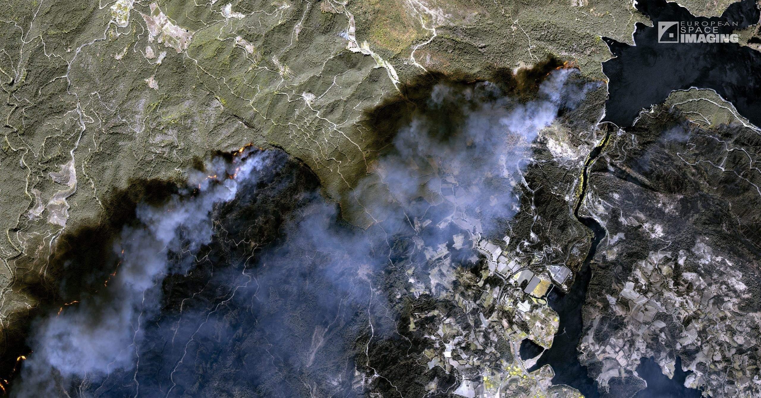 Пожежі в Туреччині