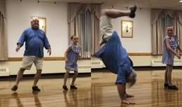 72-річний дідусь станцював з онукою: який секретний елемент вразив глядачів – відео