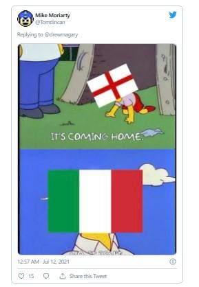 Its coming to Rome: найсмішніші жарти та меми про фінал Євро-2020