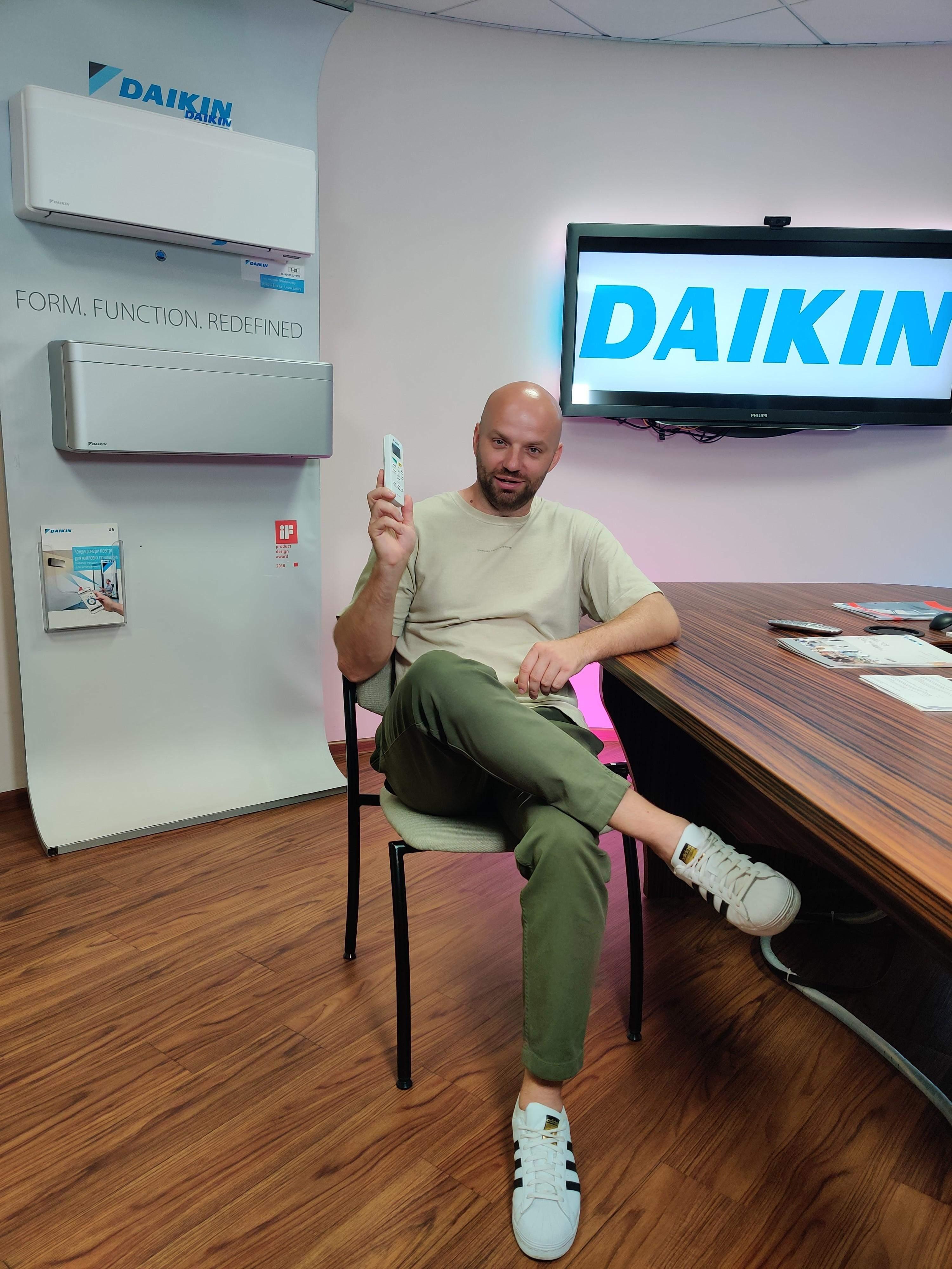 Кондиціонери Daikin рівномірно розподіляють температуру по всій кімнаті