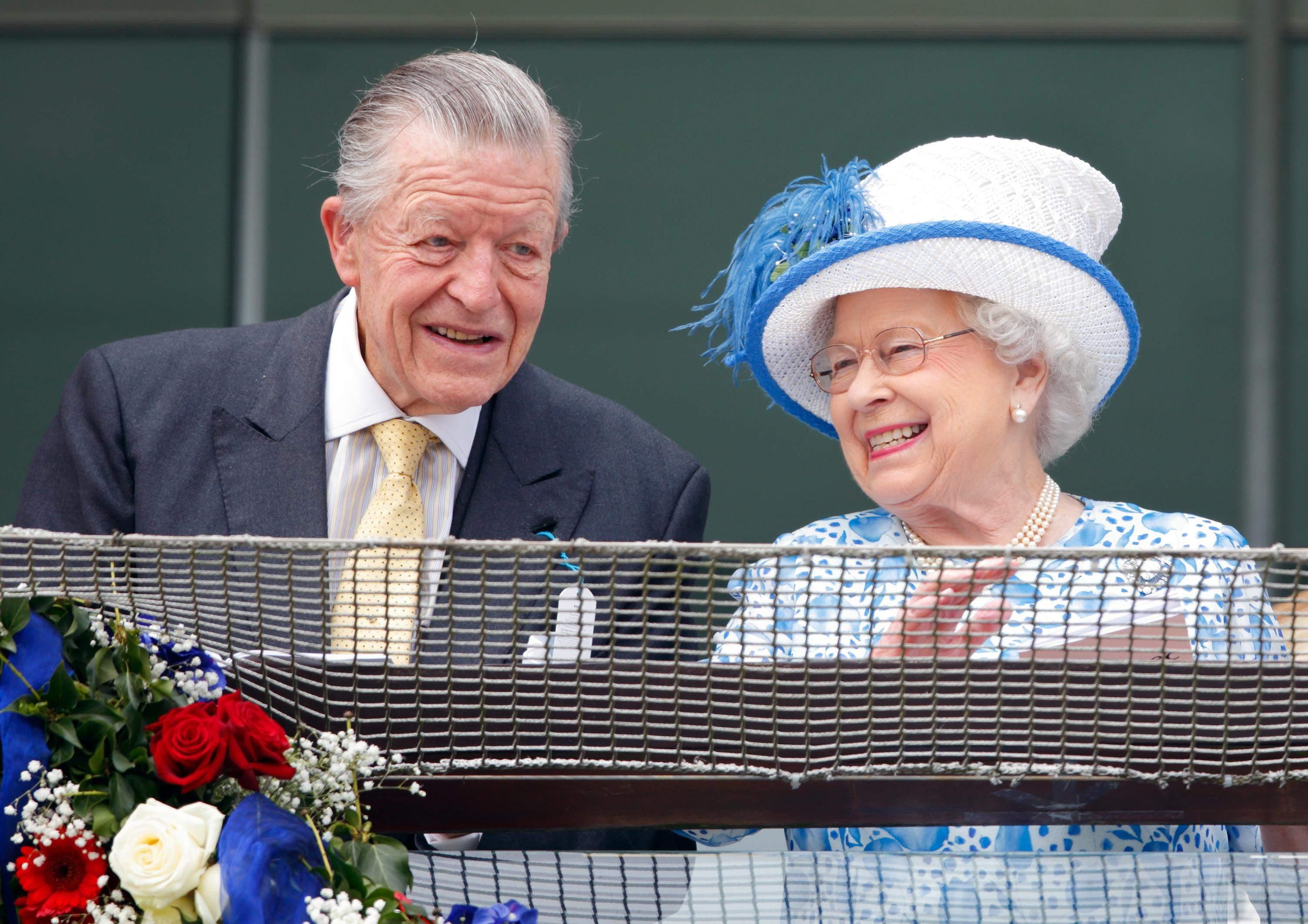 Єлизавета II і Майкл Освальд