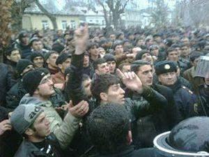 Массовые беспорядки в Азербайджане