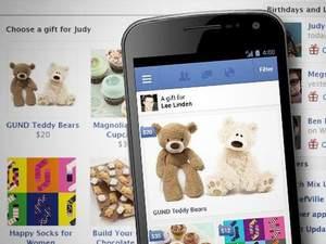 Facebook запустил магазин подарков