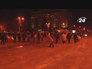 Під час розгону протестів в Запоріжжі постраждало до 100 осіб