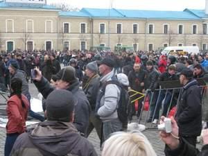 Під час штурму Харківської ОДА постраждало понад 100 людей, — віце-губернатор