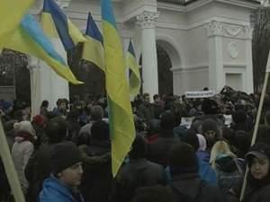 У Сімферополі провели мітинг за територіальну цілісність країни