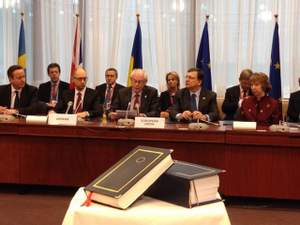 У Брюсселі підписали політичний розділ Угоди про асоціацію