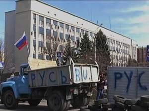 Хроніка 8 квітня: Заворушення на Сході, закони про люстрацію та покарання сепаратизму