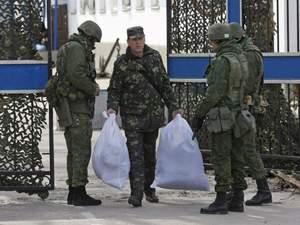 З Криму на материкову Україну виведено 2,5 тис військових і 2 сотні техніки