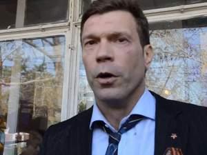 Царьова в Миколаєві побили, облили водою і закидали яйцями [Відео18+]