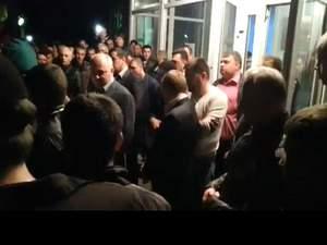 Більше двох сотень гірників вийшли на мітинг на Луганщині