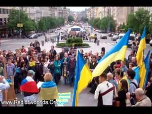 У Чехії пройшла демонстрація на підтримку України