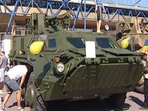 Харків'янам демонструють техніку, яку армія використовує проти терористів
