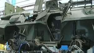 Миколаївський бронетанковий завод відновив 10 БТРів