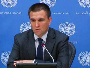 Питання України має бути на порядку денному до повної деескалації, – Клімкін