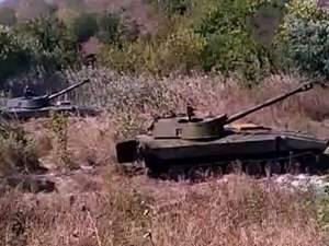 """Терористичний батальйон """"Кальміус"""" обстрілює позиції гвардійців"""