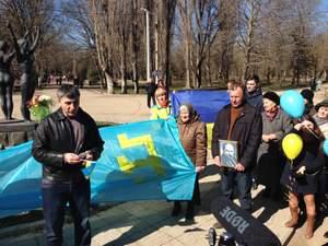 У Сімферополі поліція розігнала мітинг пам'яті Шевченка