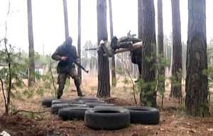"""Полк """"Азов"""" проводить бойовий вишкіл під Харковом"""