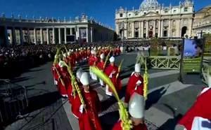 Католики всего мира отмечают пальмовое воскресенье