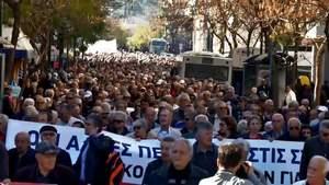 У Греції — протести, на вулиці вийшли пенсіонери