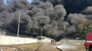 СБУ закрила кримінальне провадження у справі пожежі на нафтобазі
