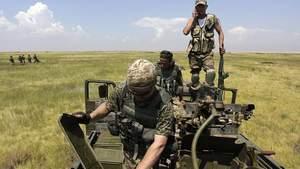 Українська армія відбила у терористів населений пункт на Донбасі