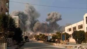 Російська авіація розбомбила місто в Сирії: півсотні загиблих