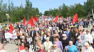 Від штовханини до знесення пам'ятника: як українські міста відзначають 9 травня