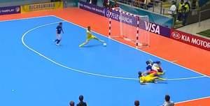Українці програли збірній Бразилії з футзалу