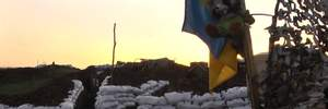 Террористы всю ночь обстреливали украинских бойцов под Горловкой: репортаж с передовой