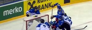 Хоккей: сборная Украины неожиданно уступила Эстонии на Чемпионате мира