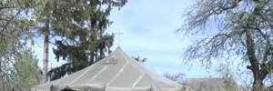 Церковні баталії на Тернопільщині: як УПЦ МП почала будувати намети для богослужінь