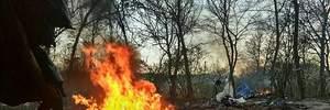 """Сожжение лагеря ромов в Киеве: в полиции инцидент назвали """"субботником"""""""