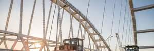 Крымский мост завершают строить: оккупанты похвастались новыми фото