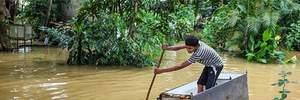 Через потужну повінь на Шрі-Ланці загинуло 12 людей: фото наслідків стихії