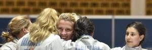 Українські фехтувальниці завоювали срібло чемпіонату Європи