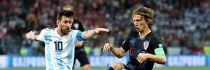 Аргентина – Хорватия: видео голов и моментов матча