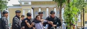 Масові протести у Казахстані: поліція затримала десятки людей