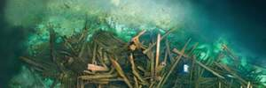 В Днепре неподалеку от Херсона археологи нашли 2 средневековых корабля 17 века
