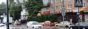 После сильного дождя Хмельницкий затопило: фото и видео