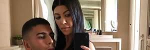 Бойфренд Кортни Кардашян осудил пикантное фото своей возлюбленной в Instagram