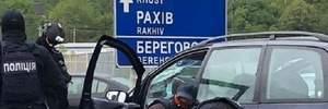 На Закарпатье полиция устроила погоню со стрельбой за группой наркоторговцев