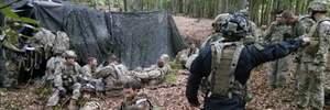 """Украинские десантники """"захватили"""" итальянских и американских военных"""