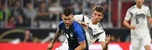 Франція перемогла Німеччину завдяки суперечливому пенальті: відео голів