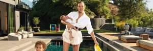 Крисси Тейген с маленькими детьми показала свой дом и сфотографировалась для Vogue