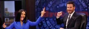 Cardi B засветилась на американском шоу в костюме украинского дизайнера