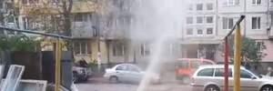 Отопительный сезон начался в Киеве с неприятности: красноречивое видео