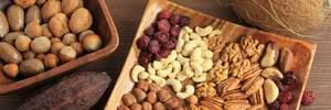 Шість видів горіхів та їхні корисні властивості