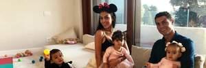 Криштиану Роналду и Джорджина Родригес отпраздновали первый день рождения дочери: фото
