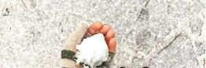 У Києві випав перший сніг: фото і відео